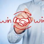 win-winsituatie onderhandelen