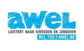 Logo vzw AWEL dat gesteund wordt door Businesslab
