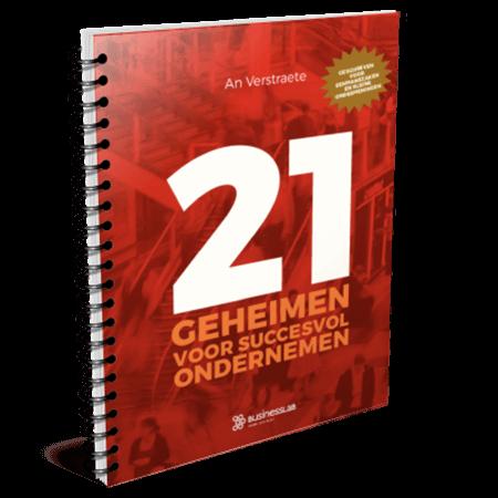 e-boek 21 geheimen