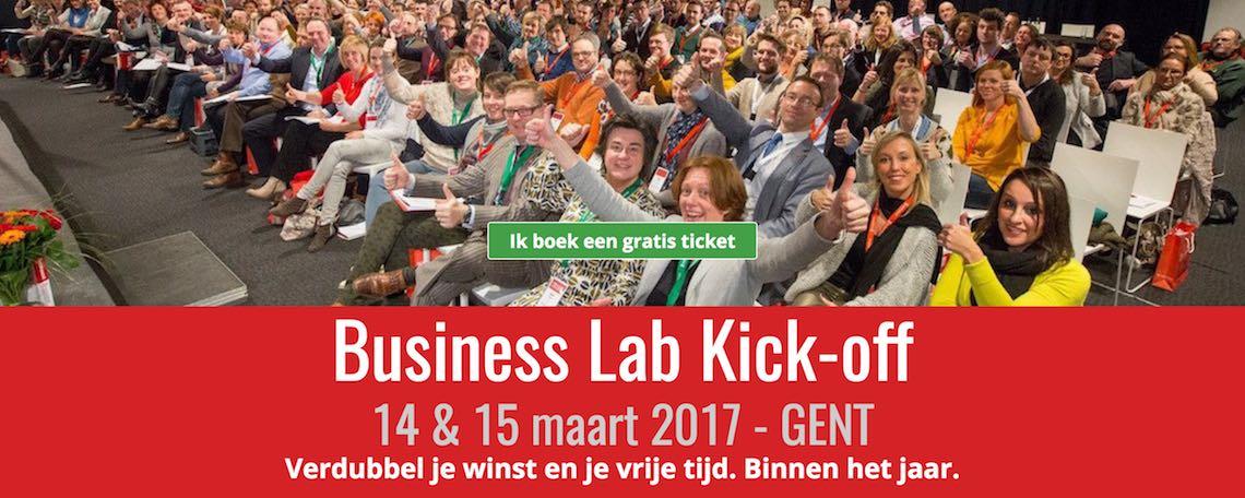 Kom naar de Business Lab Kick-off