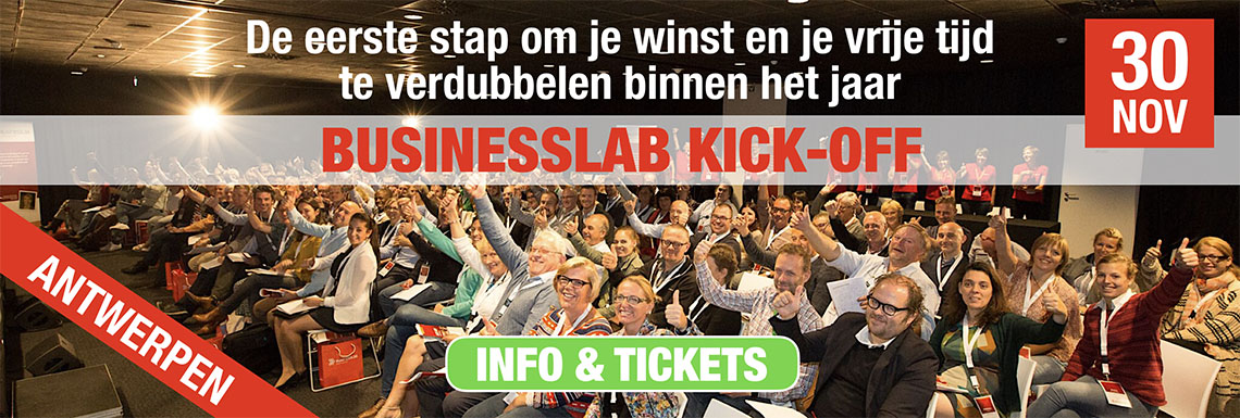Businesslab Kick-off 30 novemver 2017 Antwerpen